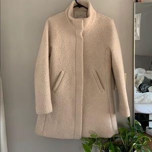 Loft wool coat in blush